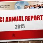 RCI 2015 Annual Report