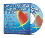 Free Conscious Dating audio CD with book